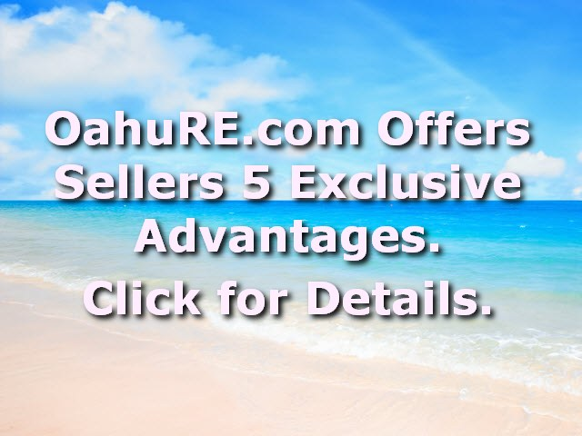OahuRE Sellers Advantages